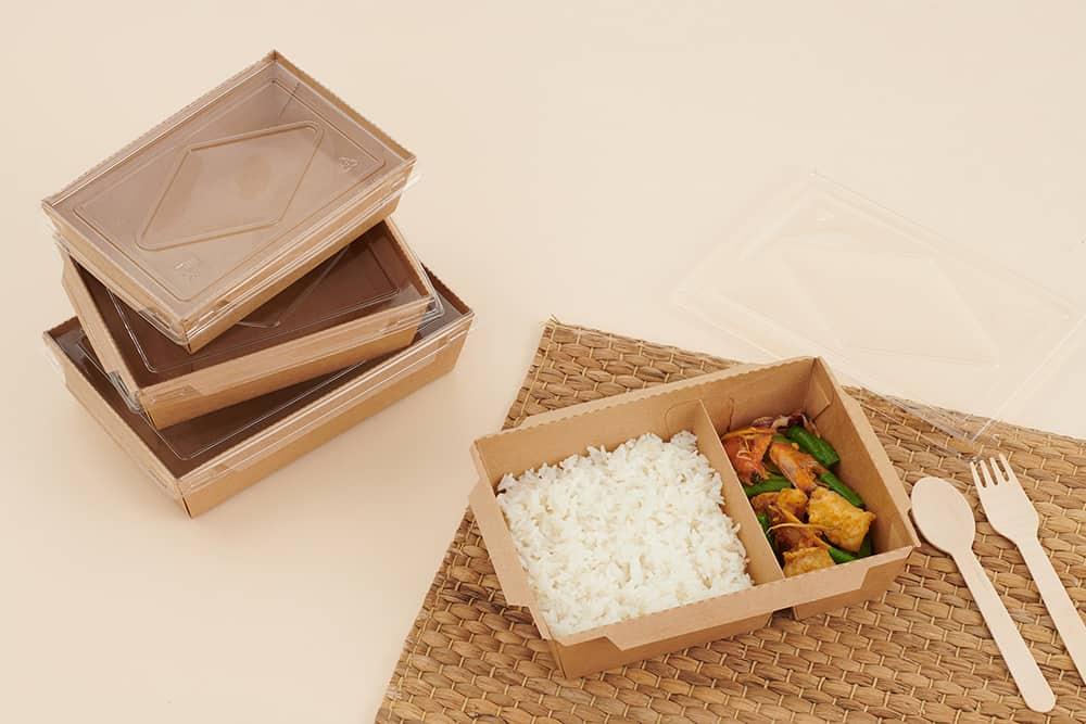 กล่องกระดาษคราฟ กล่องอาหาร